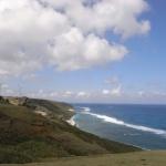 与那国町、消防車で海岸線を警戒 久部良漁港で10センチの津波