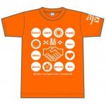 Tシャツ販売で故郷支援 トライアスロン会場で販売へ